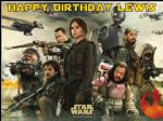 A4 Star Wars Rogue One Personalised Edible Icing or Wafer Paper Birthday Cake topper